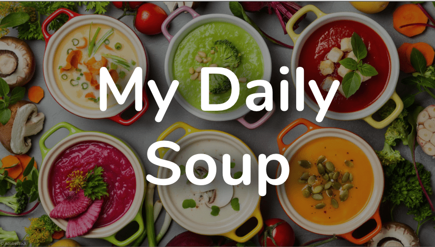 Image de fond my daily soup