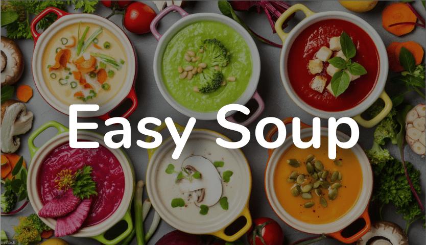 Easy soup image de fond