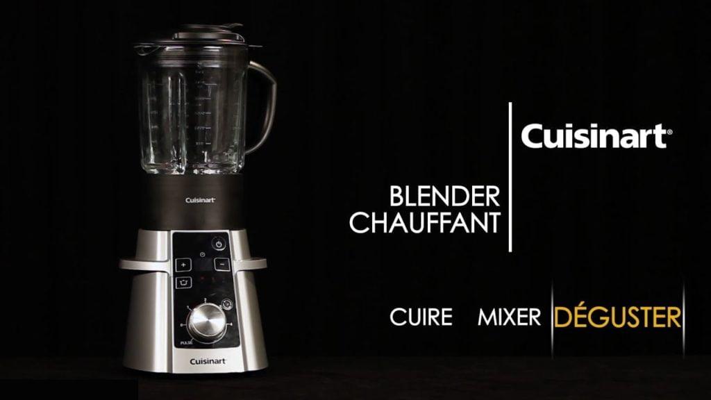blender chauffant cuisinart